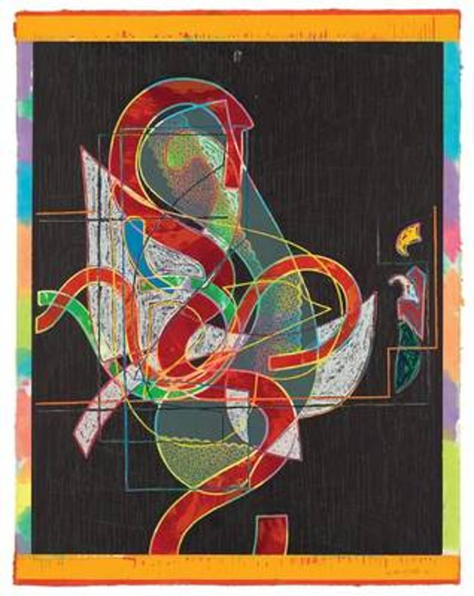Frank Stella Prints - A Catalogue Raisonne