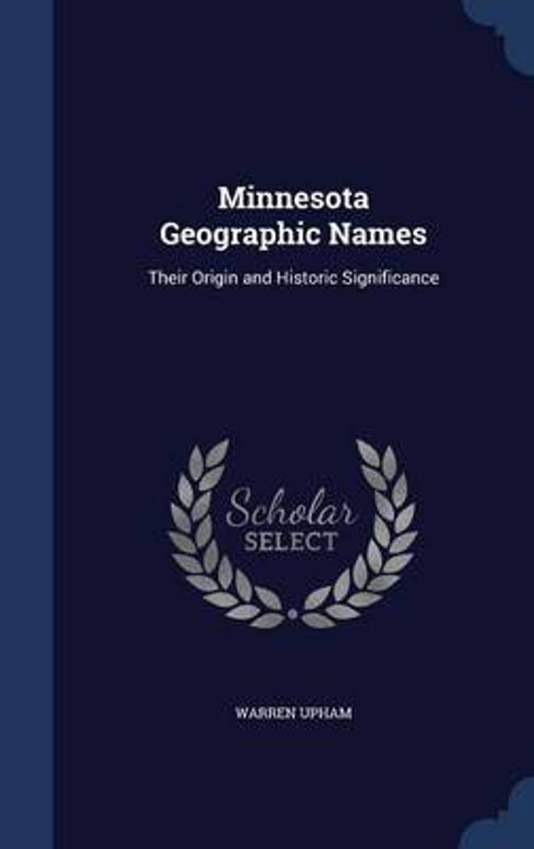 Minnesota Geographic Names