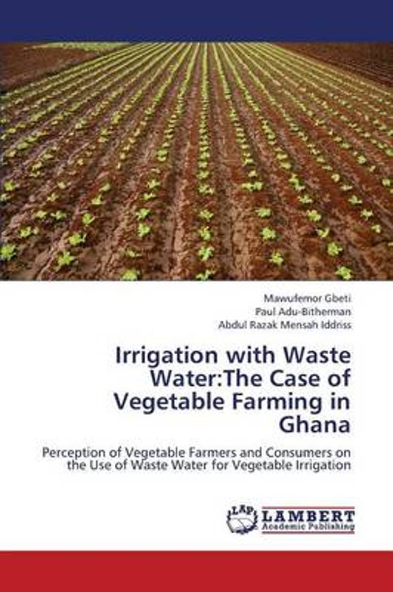 Irrigation with Waste Water