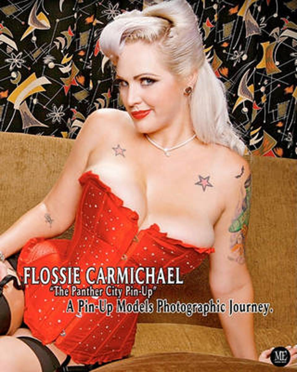Flossie Carmichael The Panther City Pin-Up a Pin-Up Models Photographic Journey.
