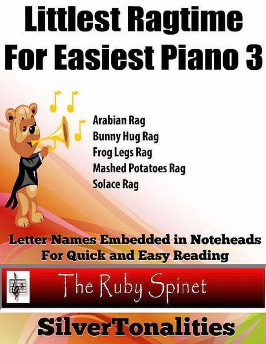 Littlest Ragtime for Easiest Piano 3