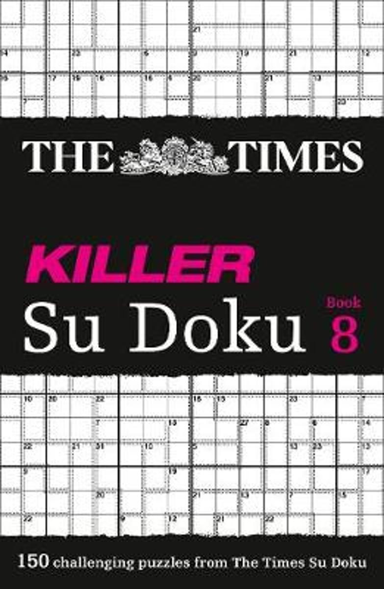 The Times Killer Su Doku Book 8