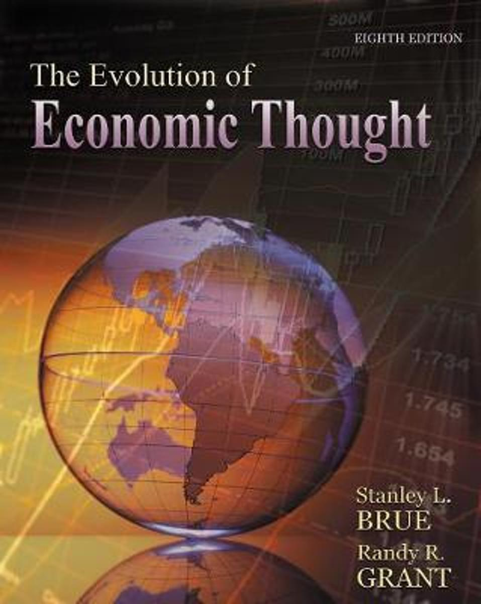 The Evolution of Economic Thought (with Economic Applications and InfoTrac (R) 2-Semester Printed Access Card)