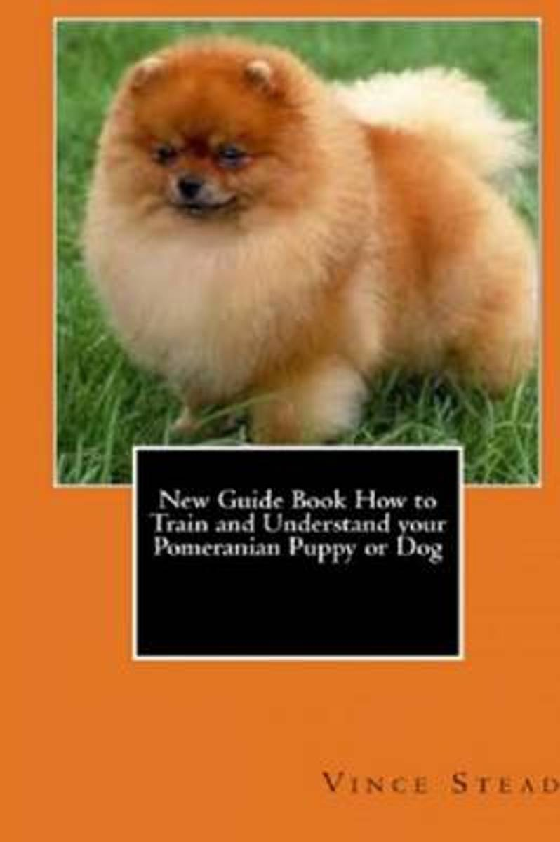New Guide Book How to Train and Understand Your Pomeranian Puppy or Dog