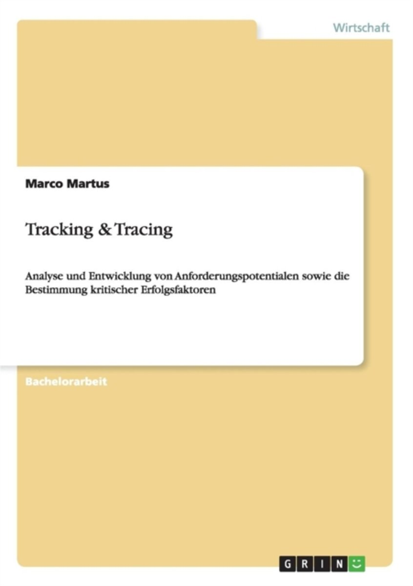 Tracking & Tracing