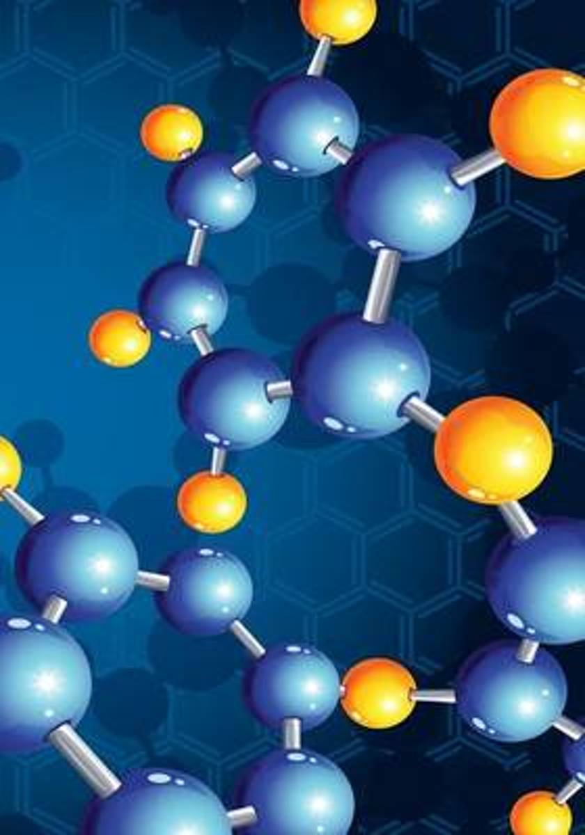 Notebook - Chemical Structures Theme