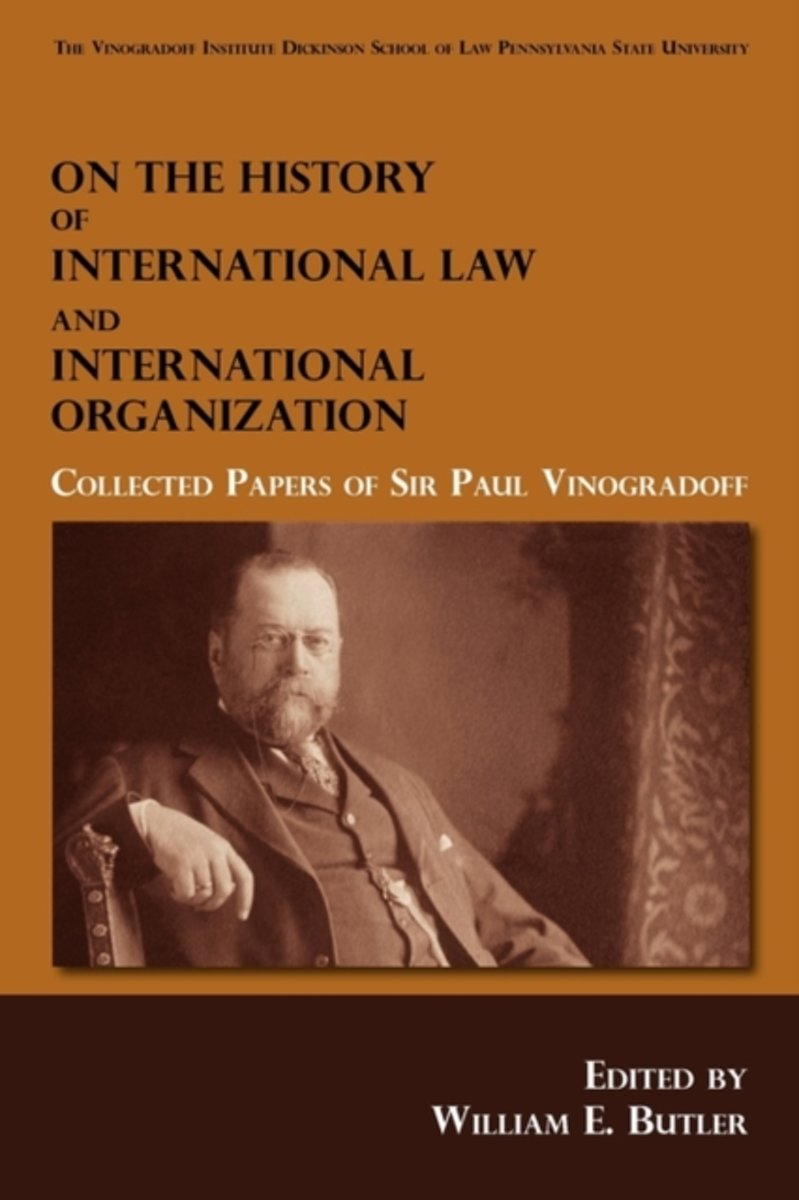 On the History of International Law and International Organization
