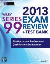 Wiley Series 99 Exam Review 2013 + Test Bank