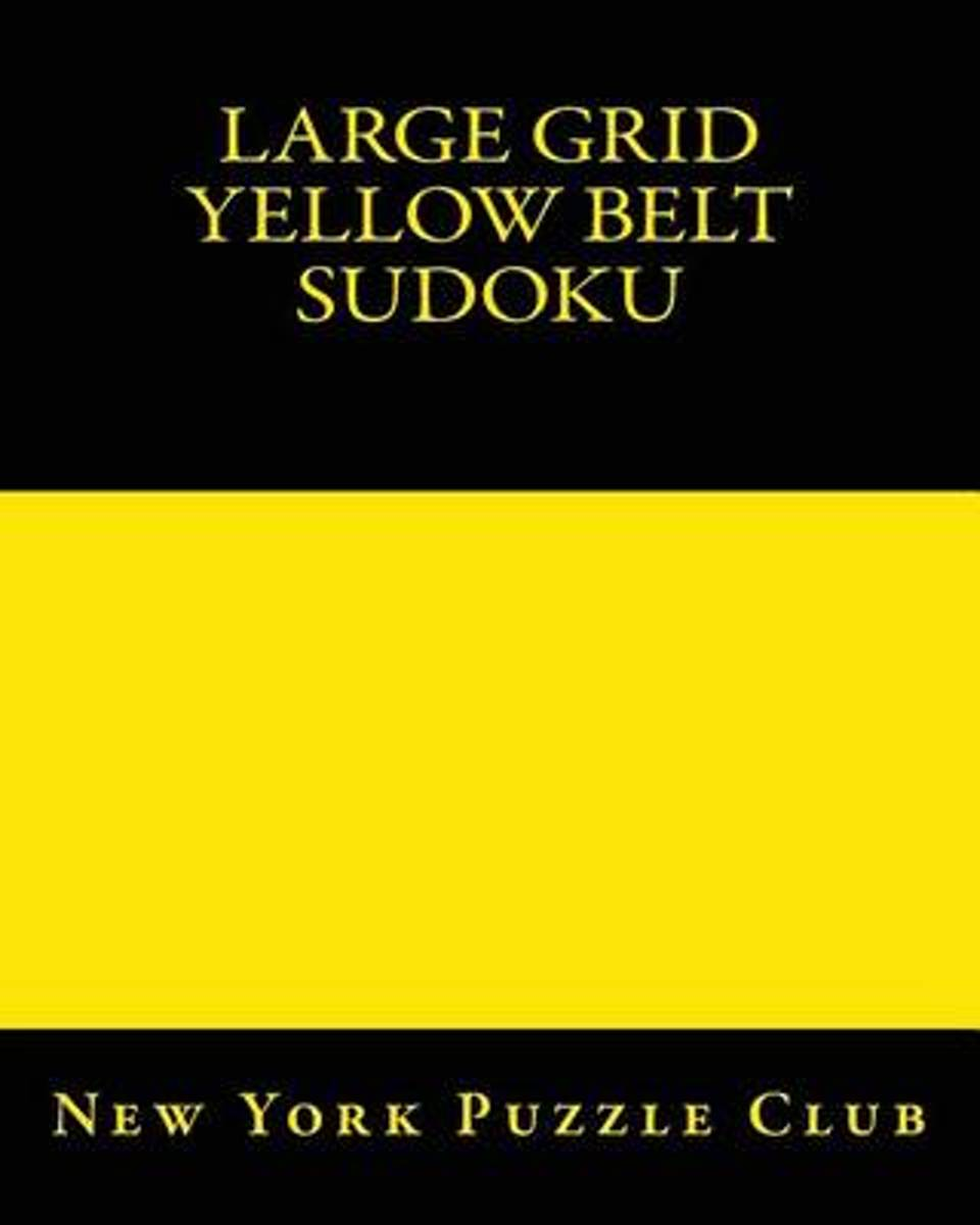 Large Grid Yellow Belt Sudoku