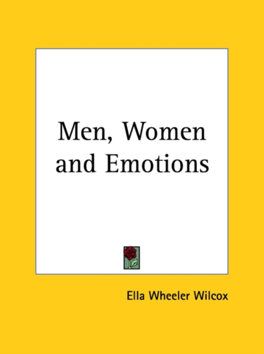 Men, Women and Emotions (1898)