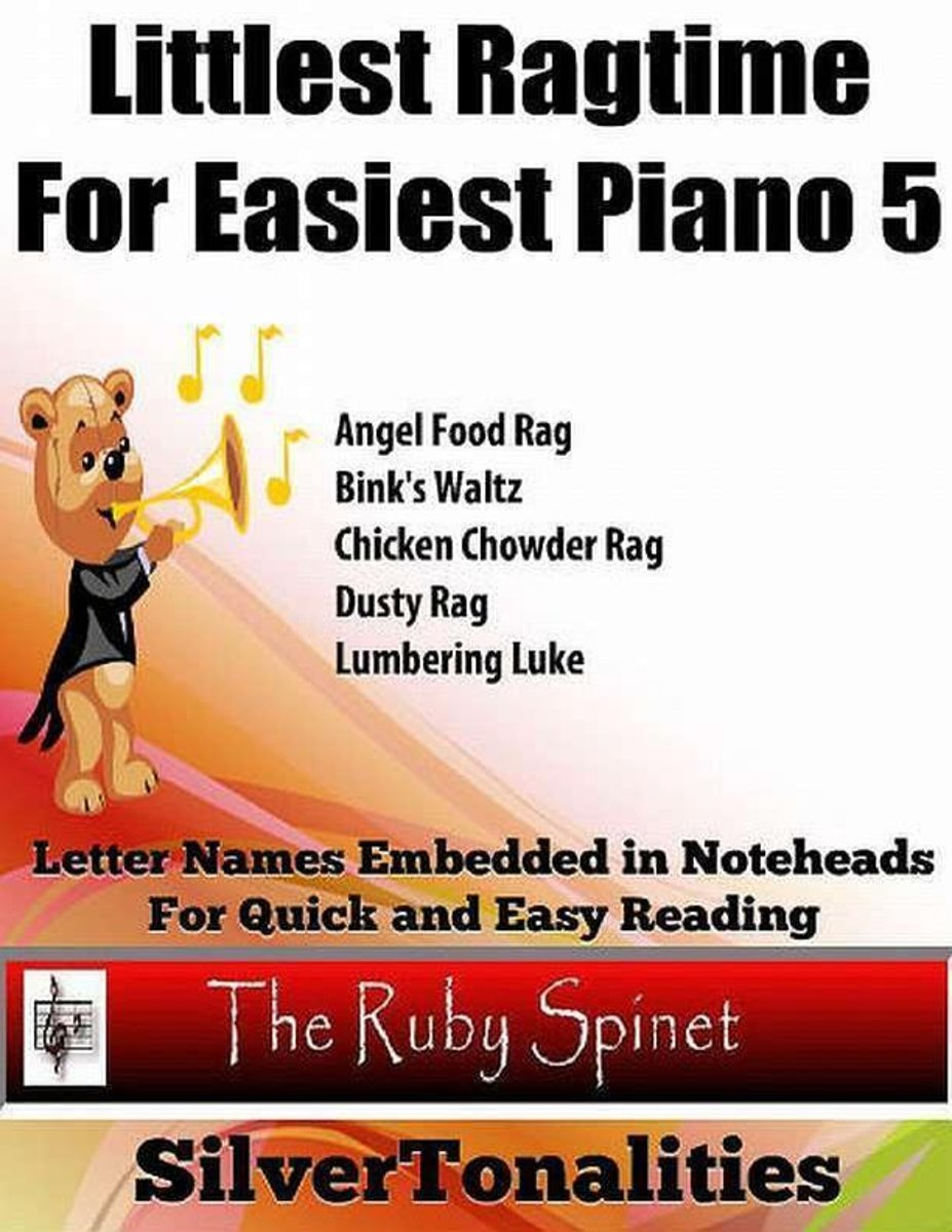 Littlest Ragtime for Easiest Piano 5