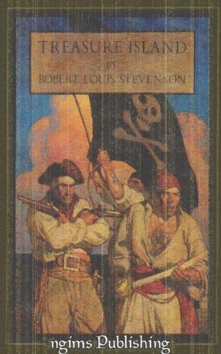 Treasure Island (Illustrated by N.C. Wyeth + Audiobook Download Link + Active TOC)
