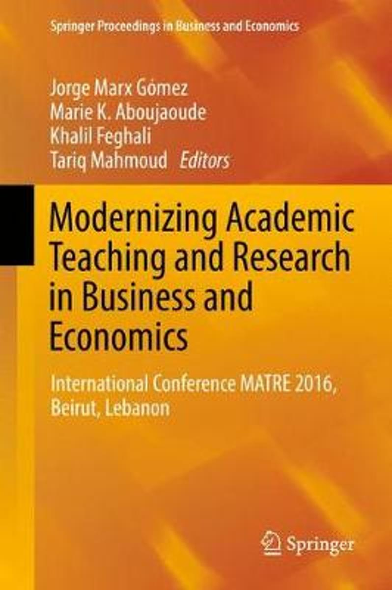 Modernizing Academic Teaching and Research in Business and Economics