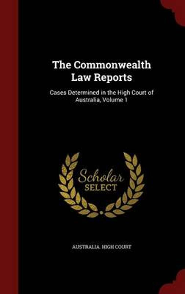 The Commonwealth Law Reports