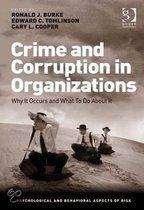 Crime and Corruption in Organizations