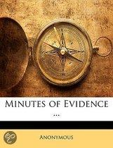 Minutes Of Evidence ...