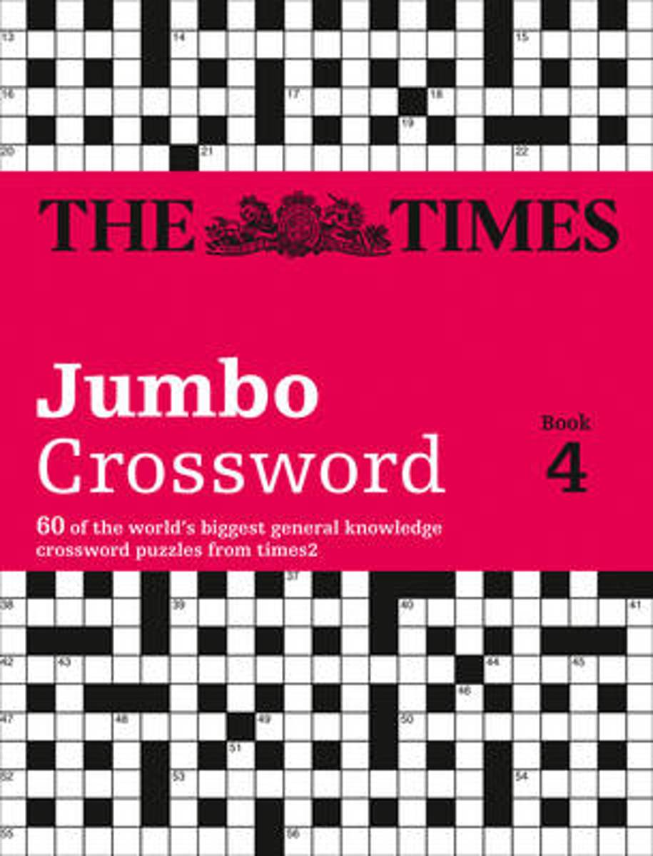 The Times 2 Jumbo Crossword Book 4