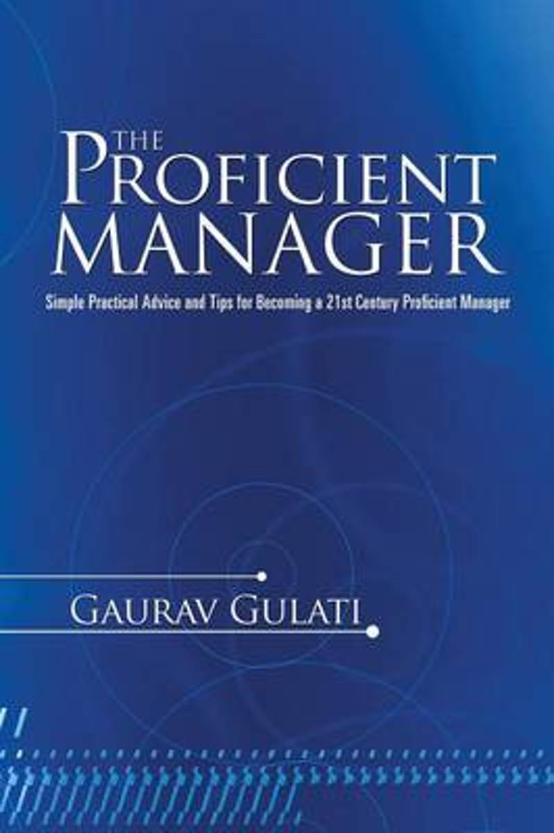 The Proficient Manager
