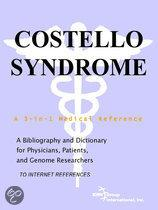Costello Syndrome - a Bibliography and Dictionary for Physicians, Patients, and Genome Researchers