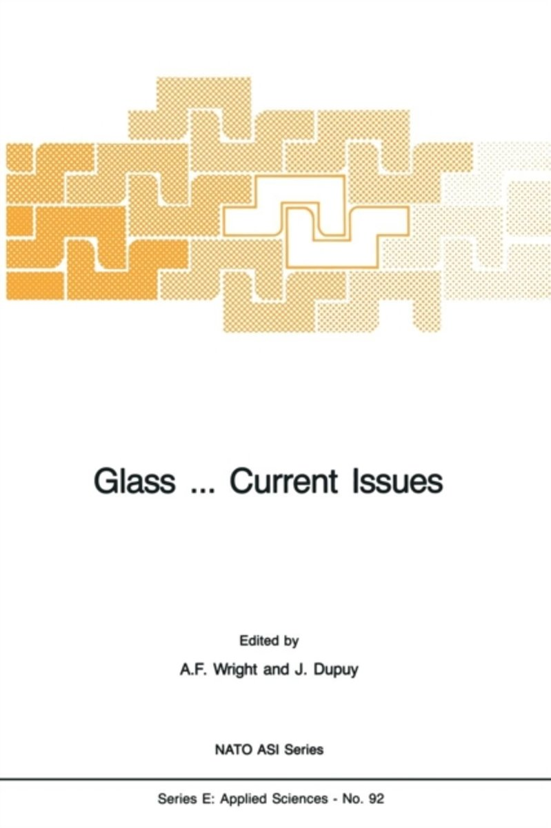 Glass ... Current Issues