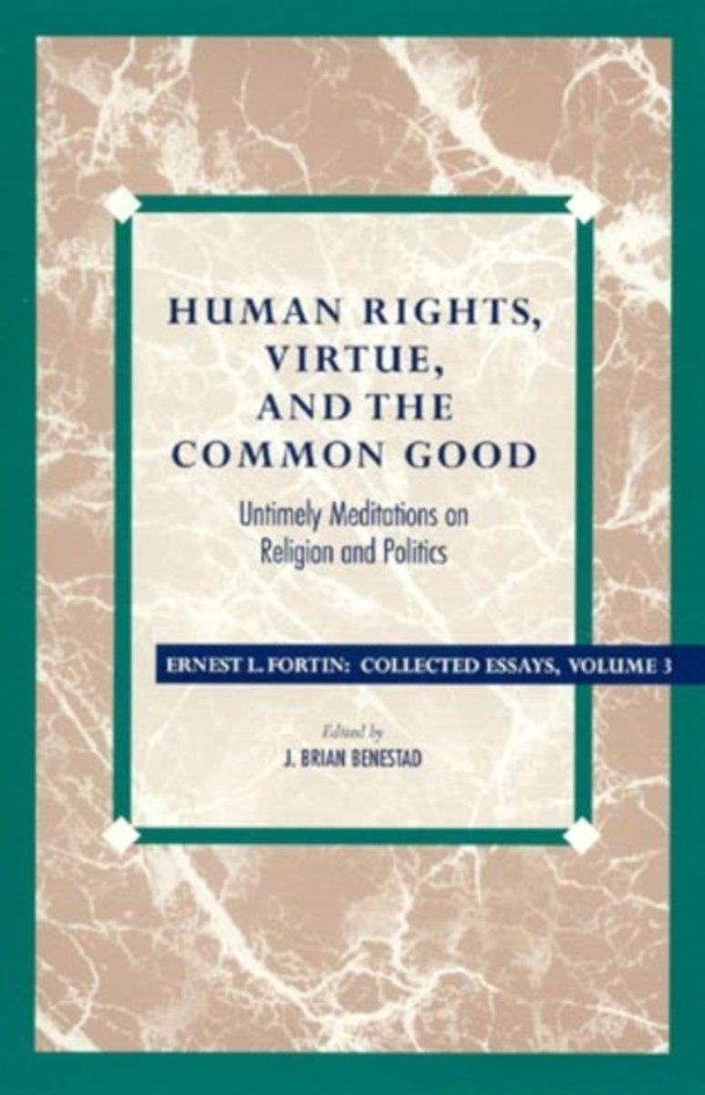 Human Rights, Virtue, and the Common Good