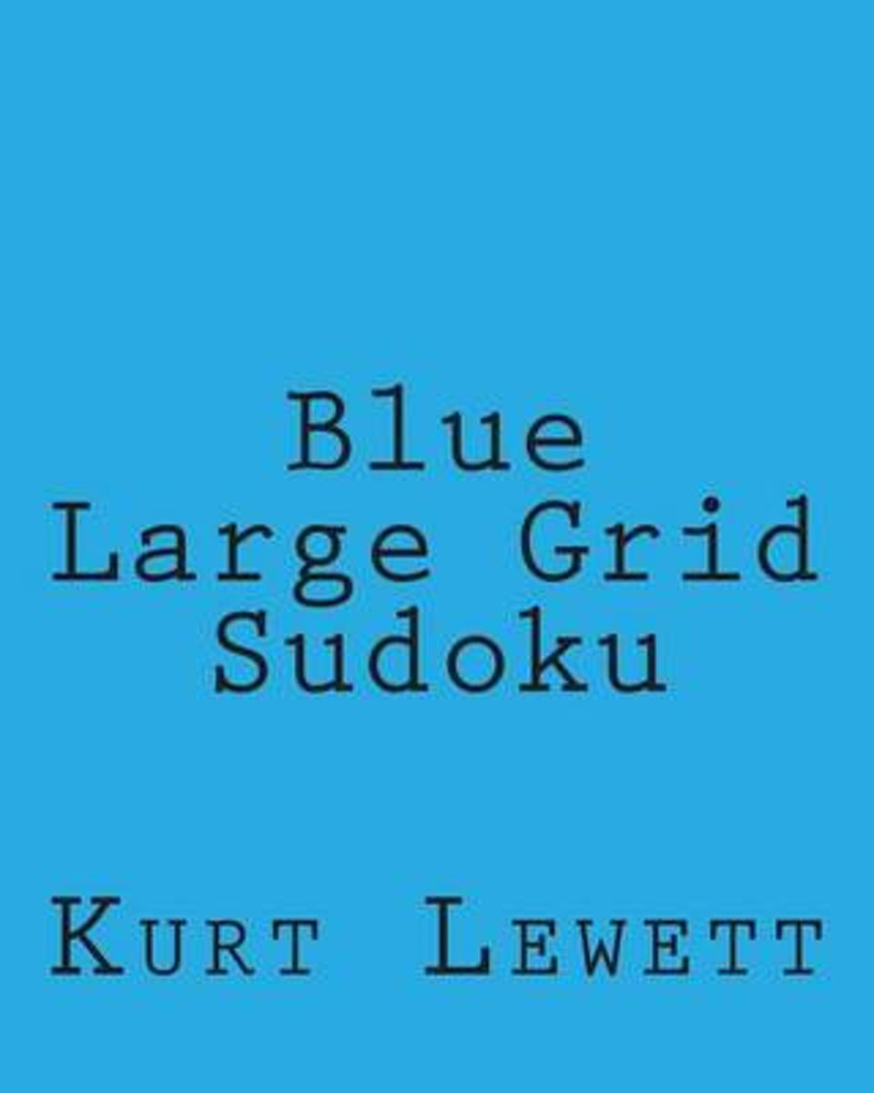 Blue Large Grid Sudoku