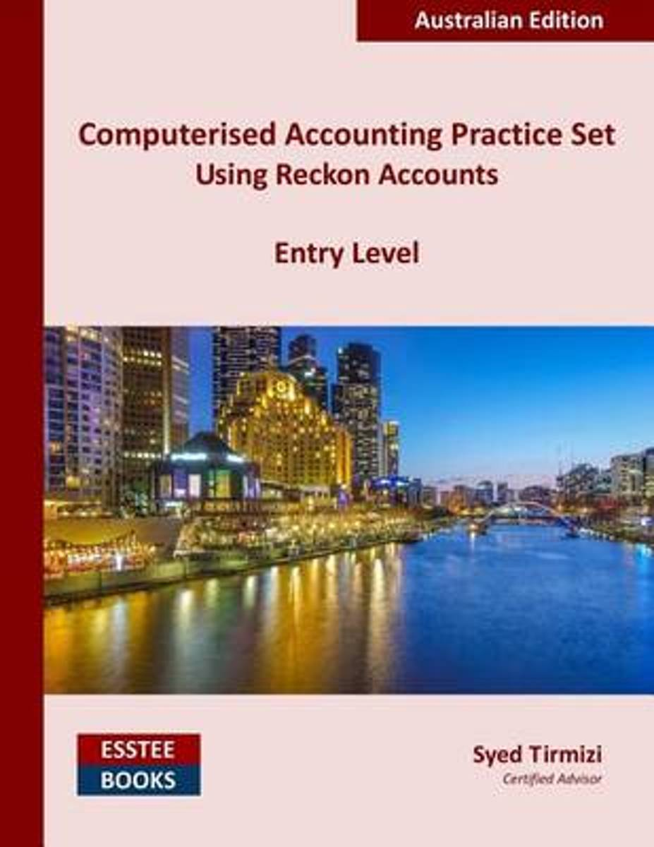 Computerised Accounting Practice Set Using Reckon Accounts - Entry Level image