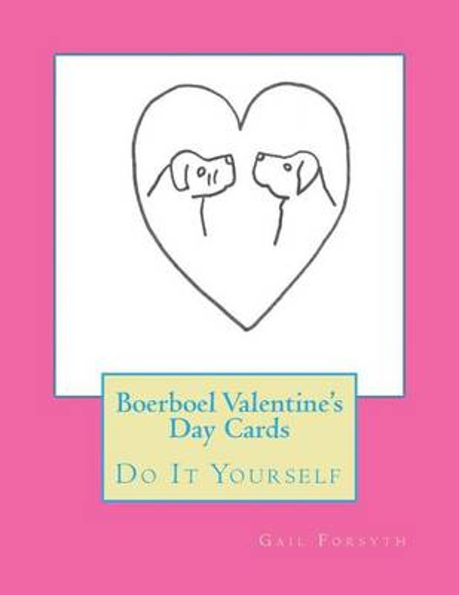 Boerboel Valentine's Day Cards