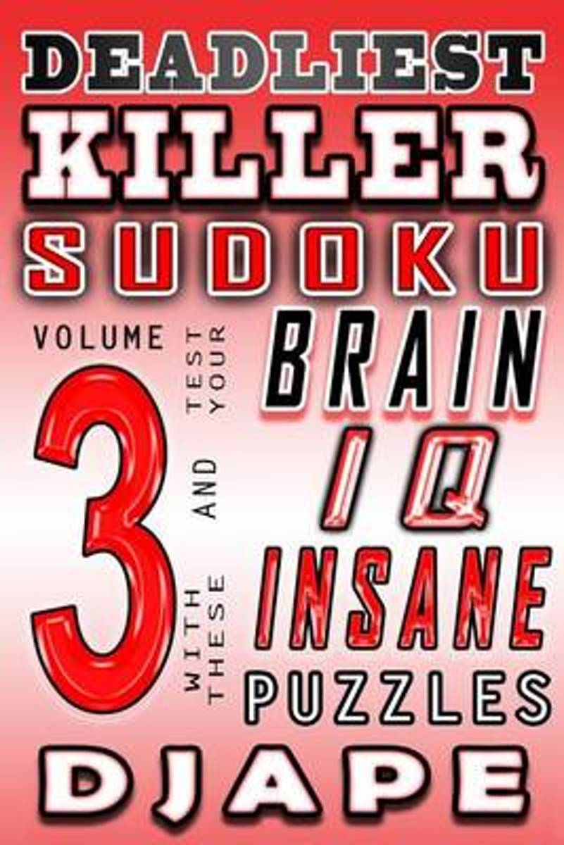 Deadliest Killer Sudoku