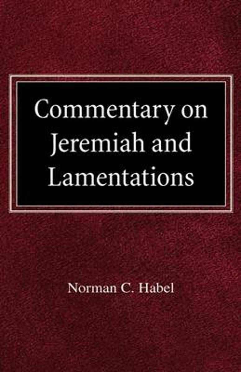 Commetary on Jeremiah and Lamentations