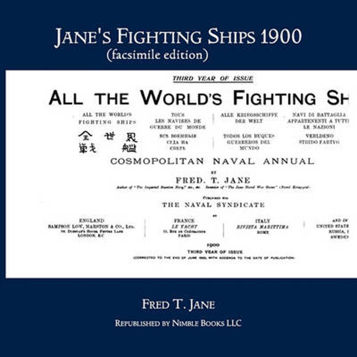 Jane's Fighting Ships 1900 (Facsimile Edition)