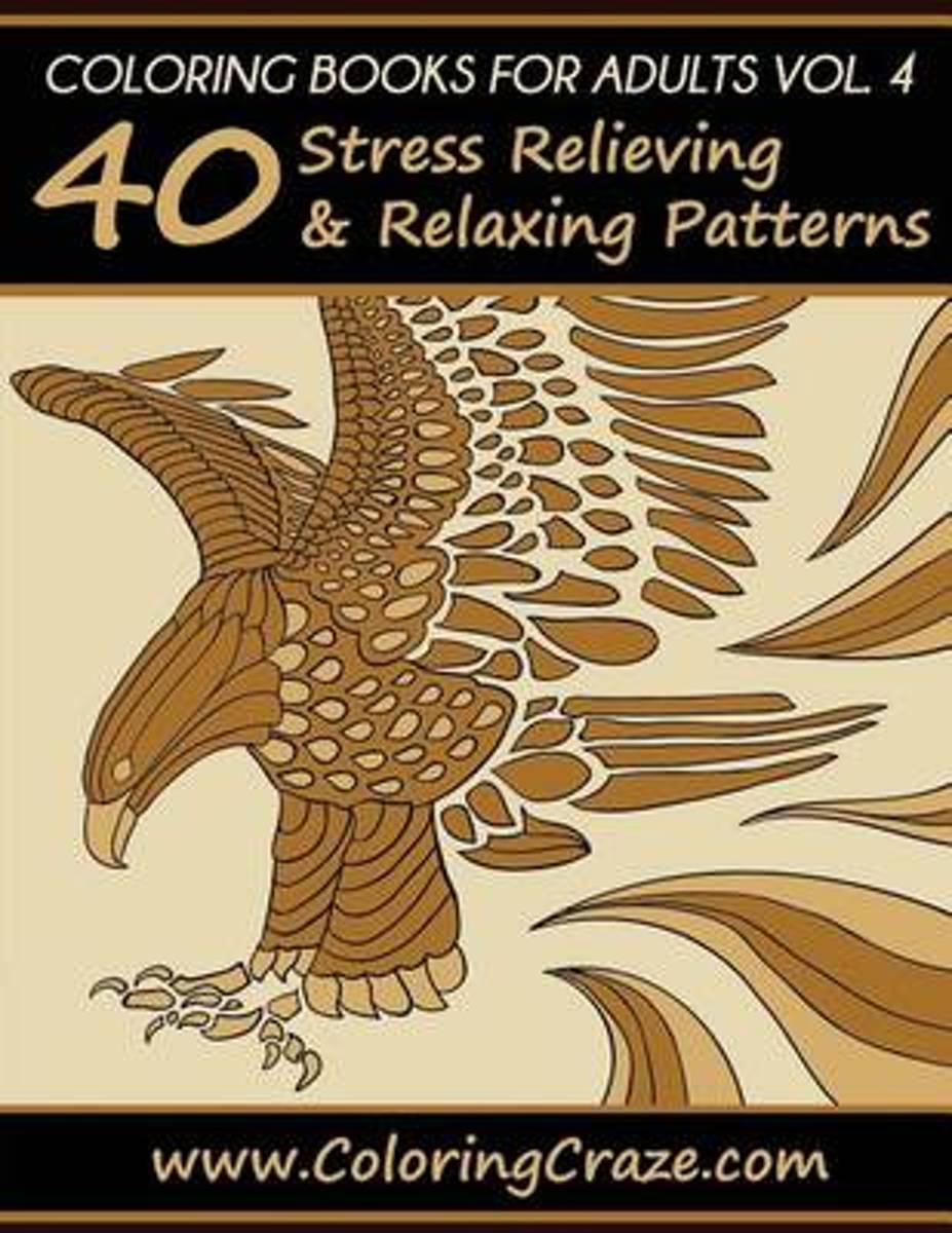 Coloring Books for Adults Volume 4