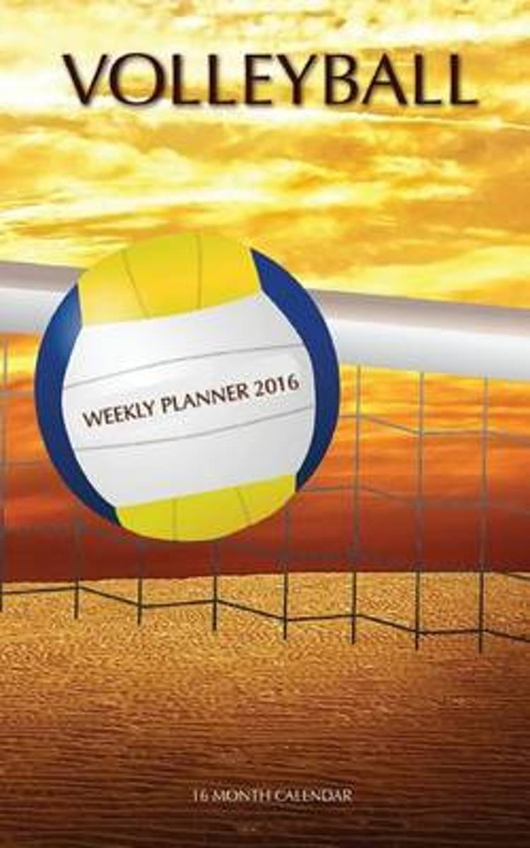 Volleyball Weekly Planner 2016