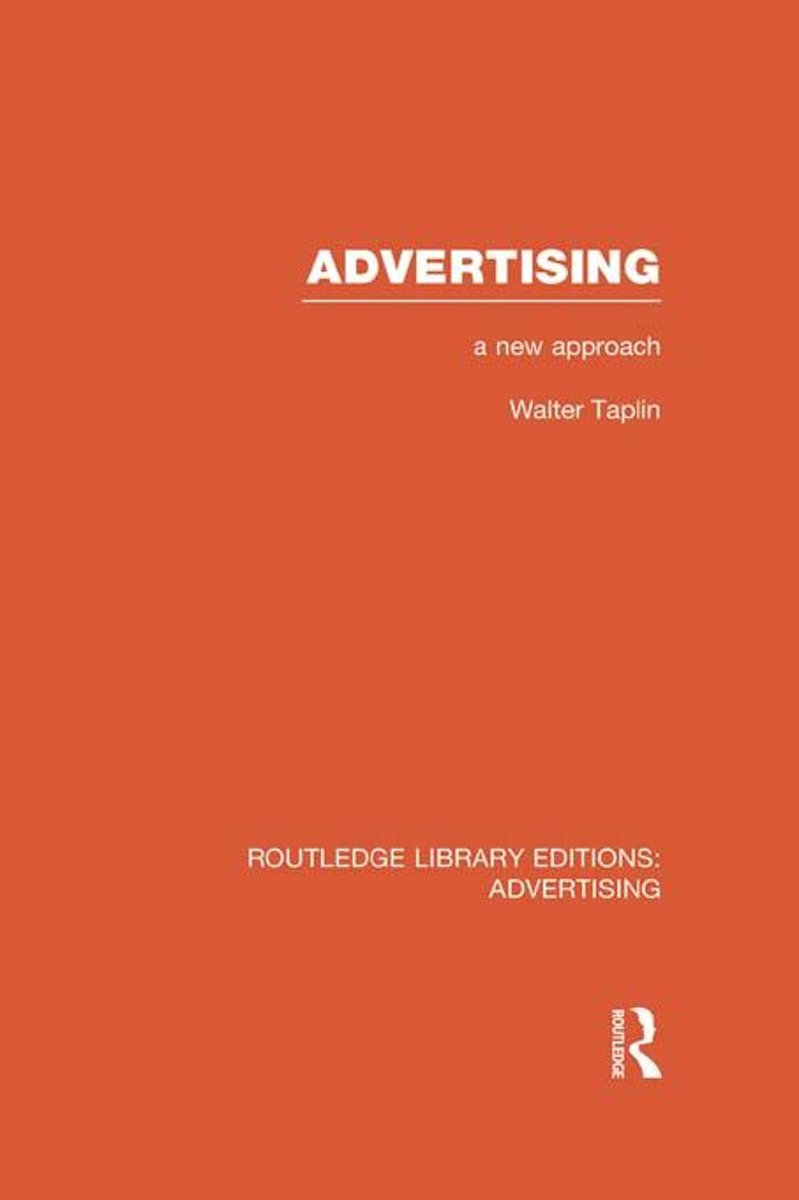 Advertising A New Approach (RLE Advertising)