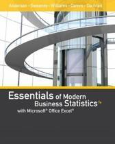 Essentials of Modern Business Statistics with Microsoft Excel (with Xlstat Education Edition Printed Access Card)