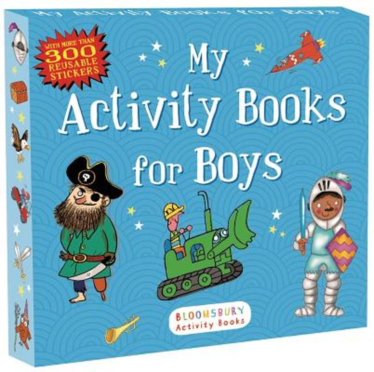 My Activity Books for Boys