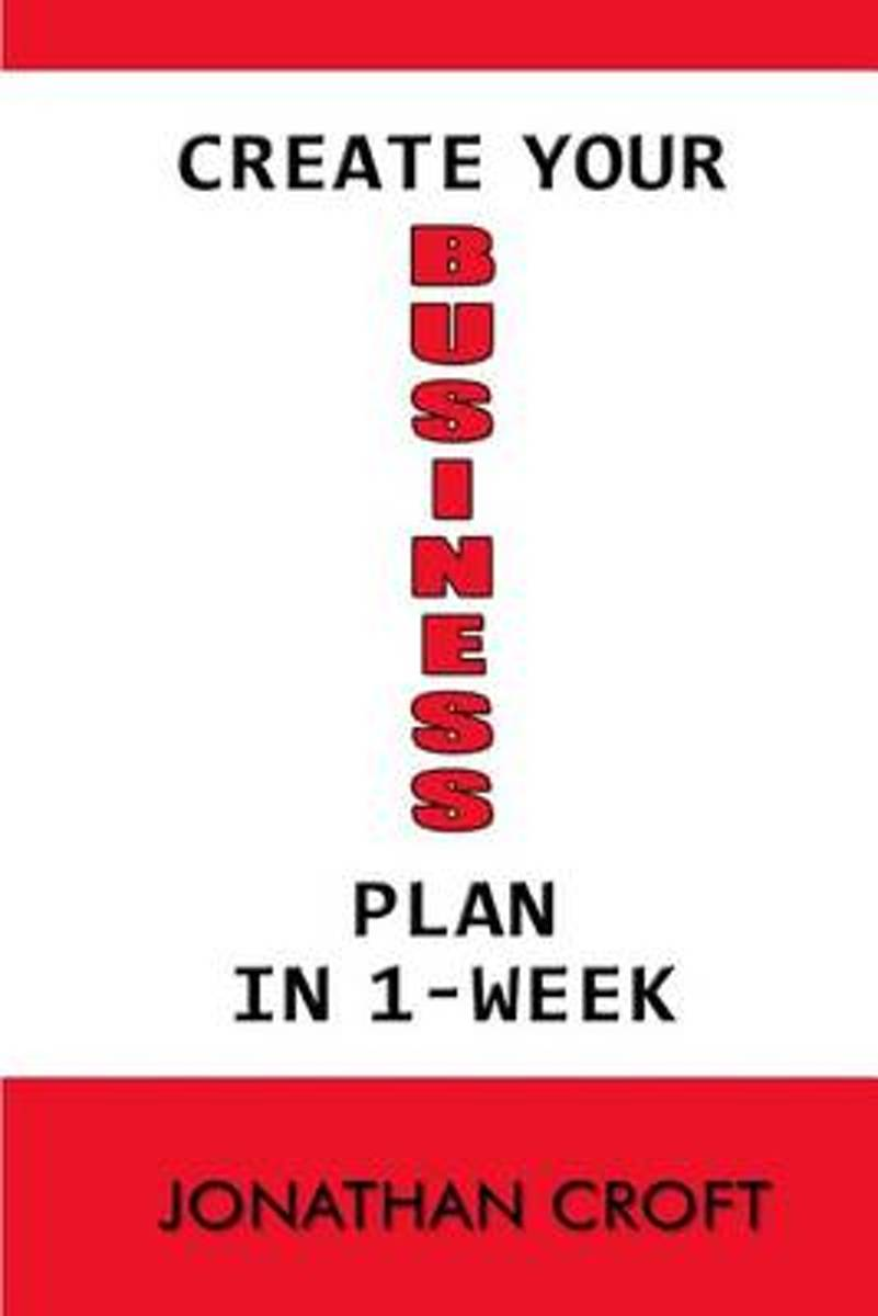 Create Your Business Plan in 1-Week