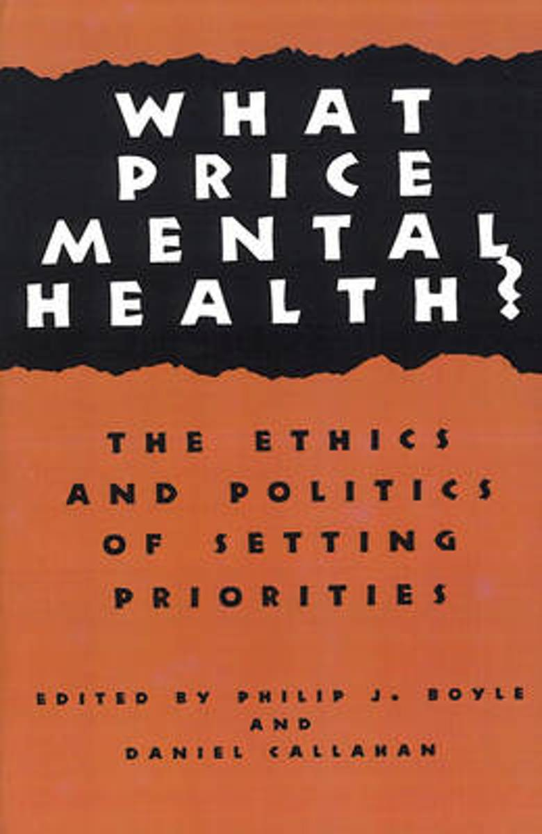 What Price Mental Health?