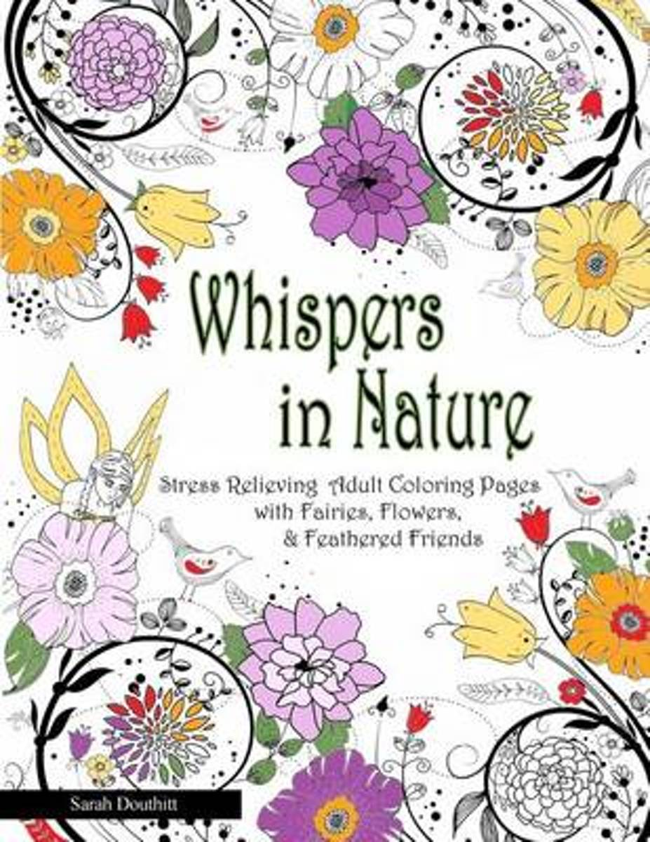 Whispers in Nature Adult Coloring Books