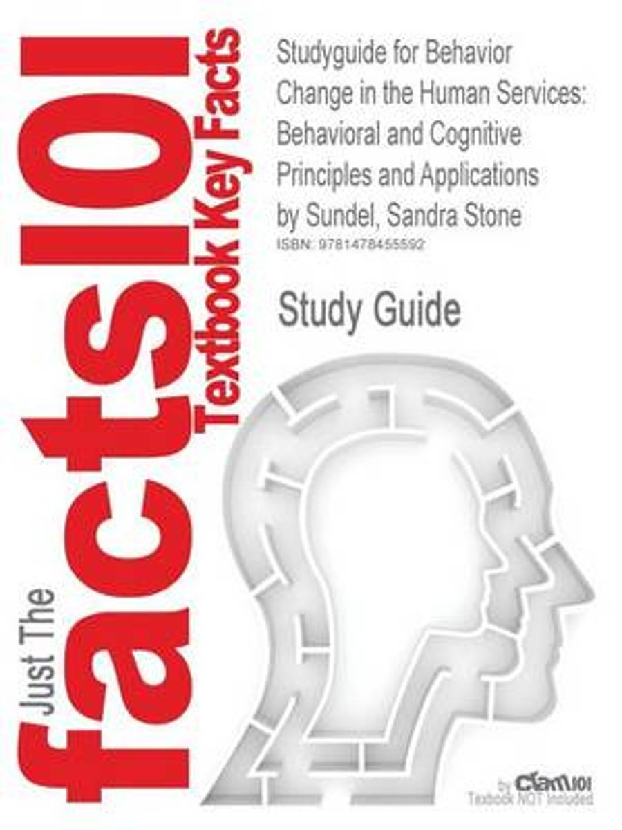Studyguide for Behavior Change in the Human Services