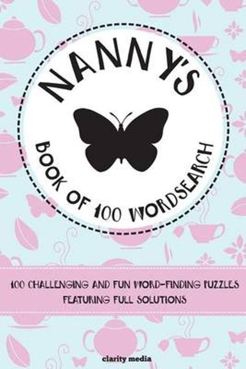 Nanny's Book of Wordsearch