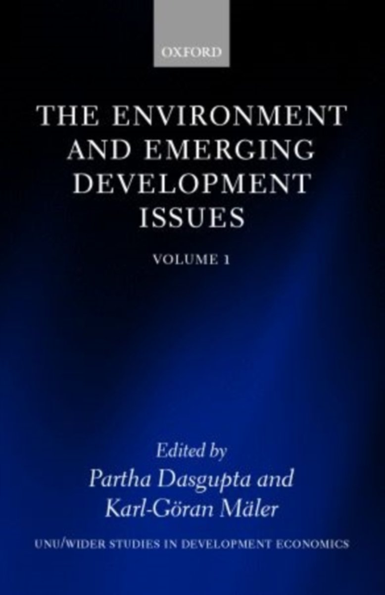 The Environment and Emerging Development Issues