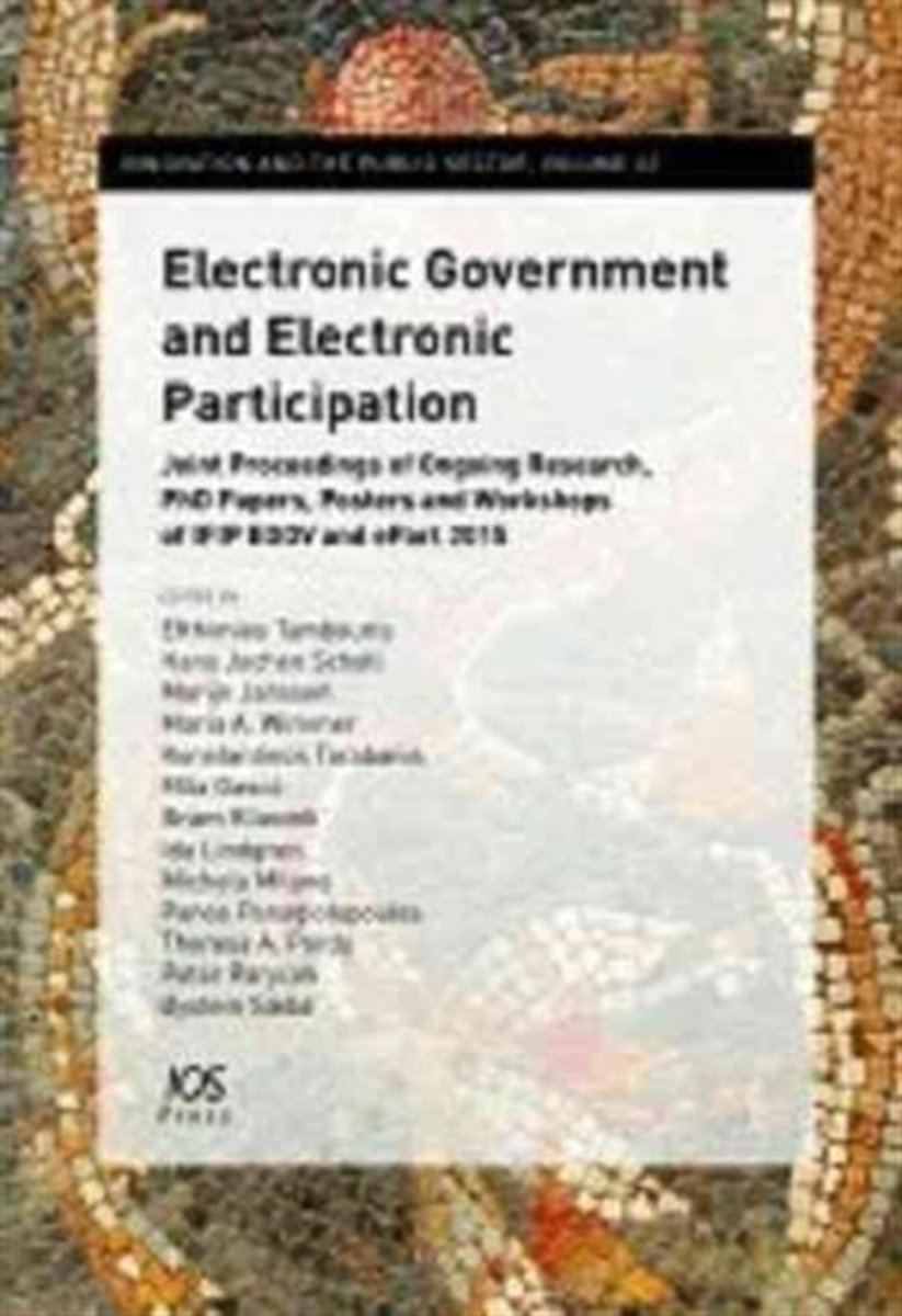 Electronic Government and Electronic Participation
