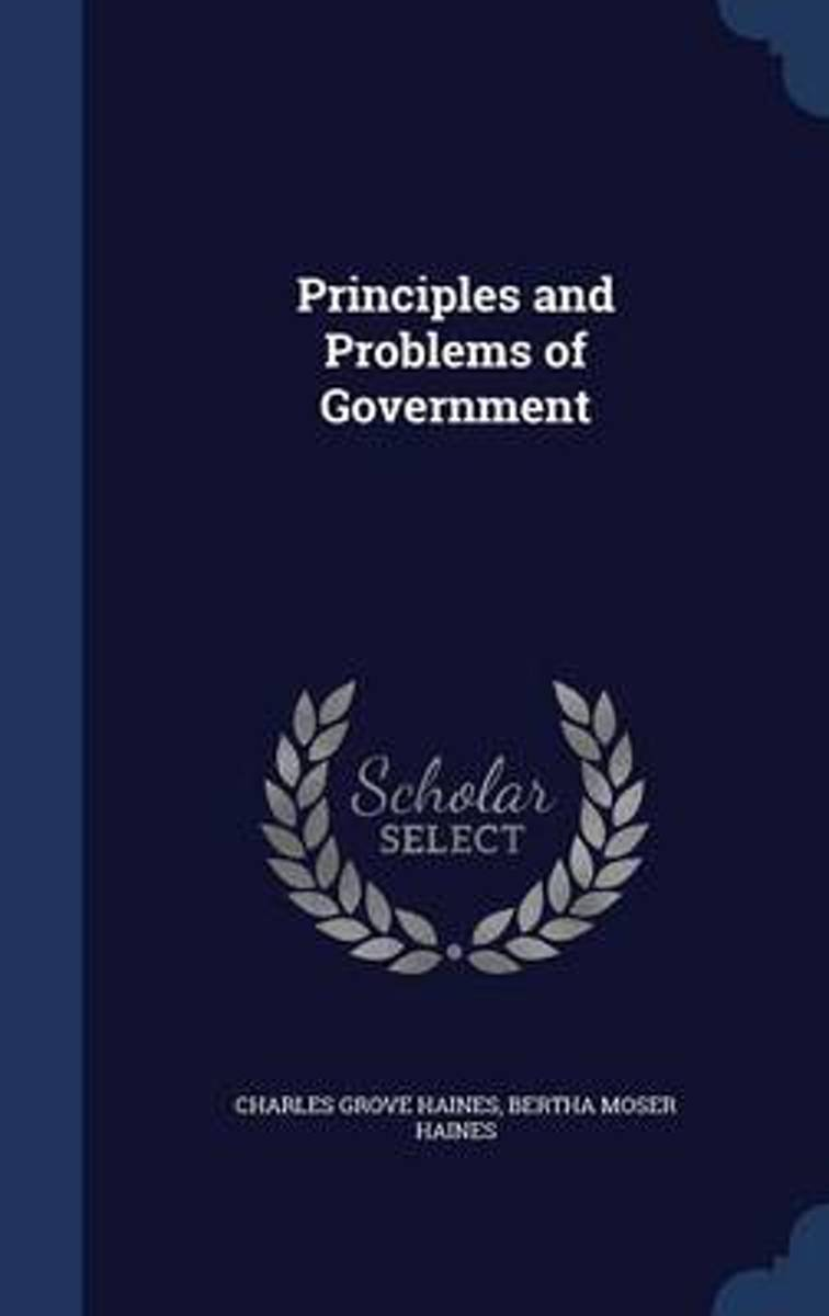 Principles and Problems of Government