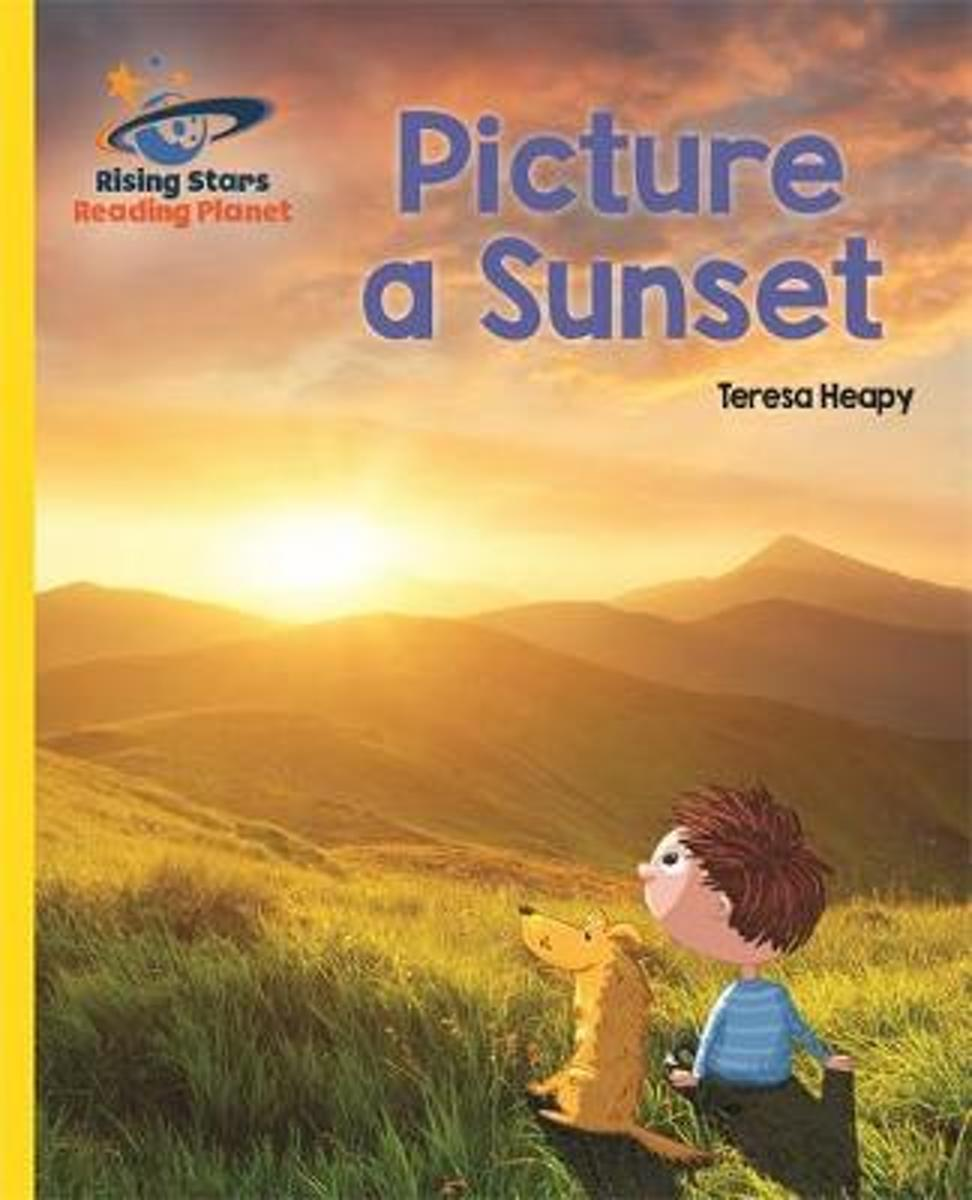 Reading Planet - Picture a Sunset - Yellow