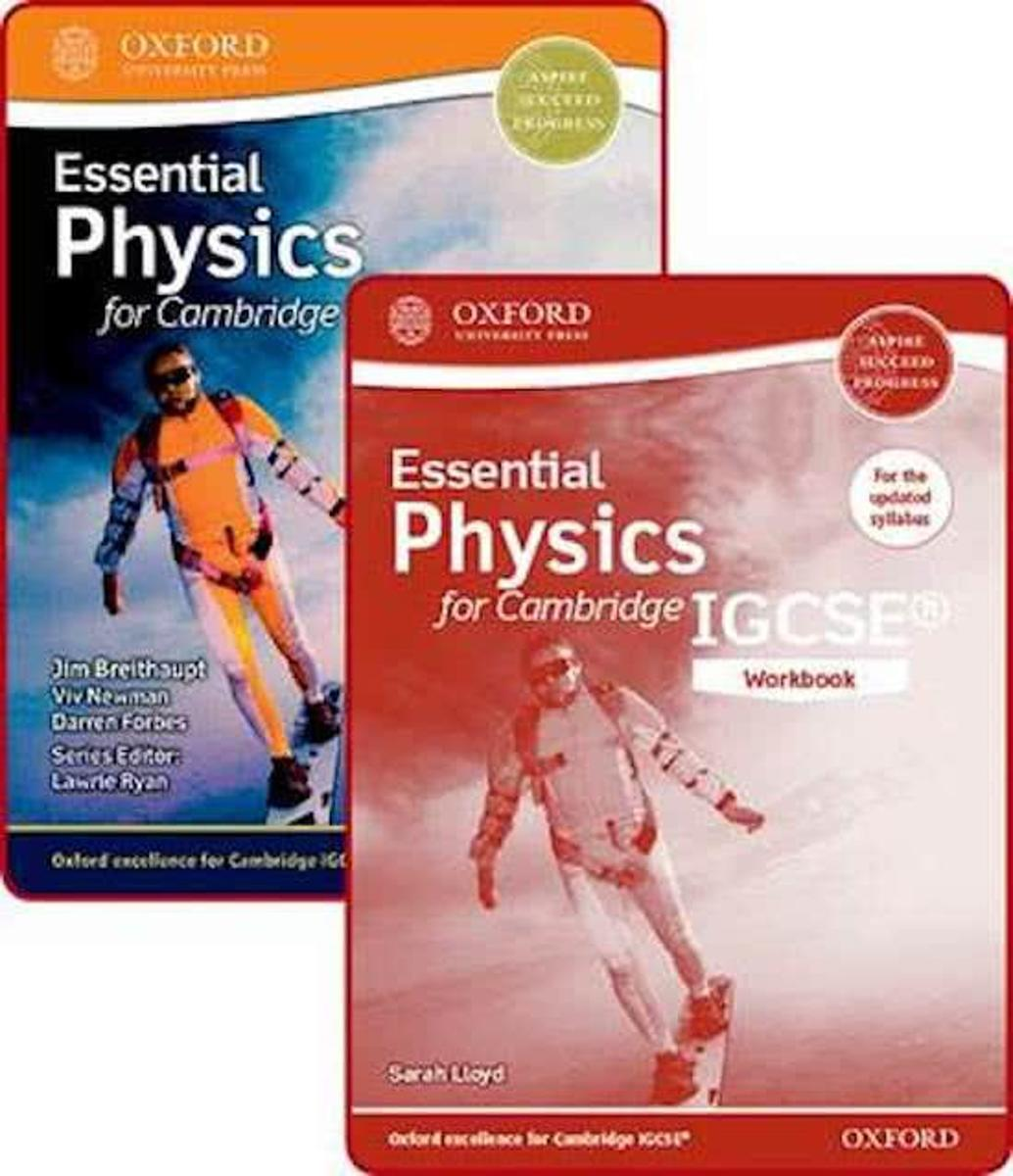 Essential Physics for Cambridge IGCSE (R) Student Book and Workbook Pack