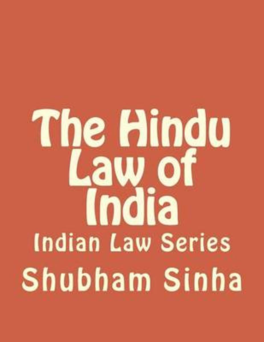 The Hindu Law of India