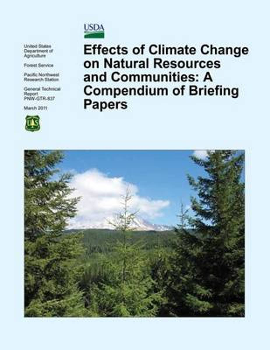 Effects of Climate Change on Natural Resources and Communities