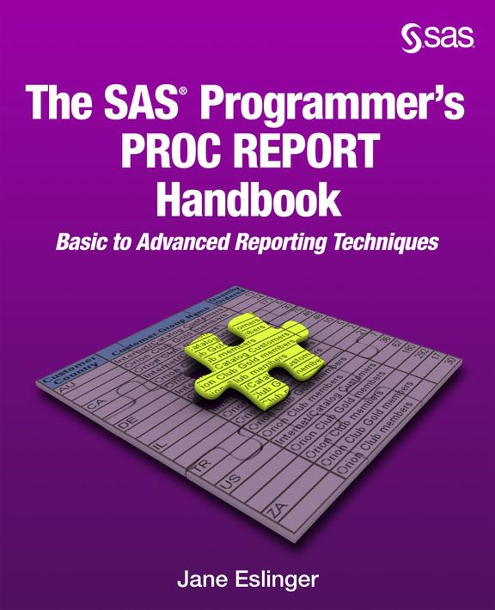 The SAS Programmer's PROC REPORT Handbook: Basic to Advanced Reporting Techniques