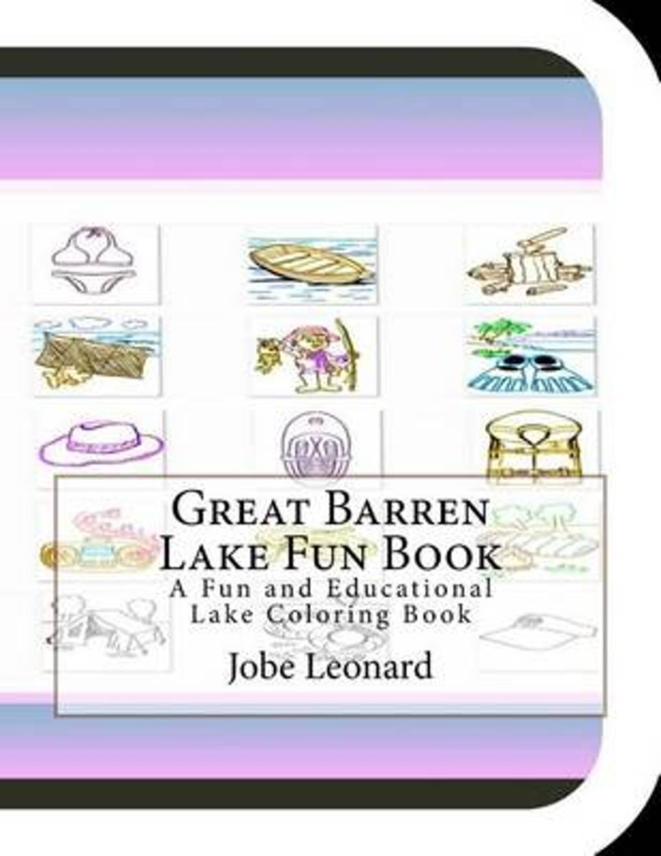 Great Barren Lake Fun Book
